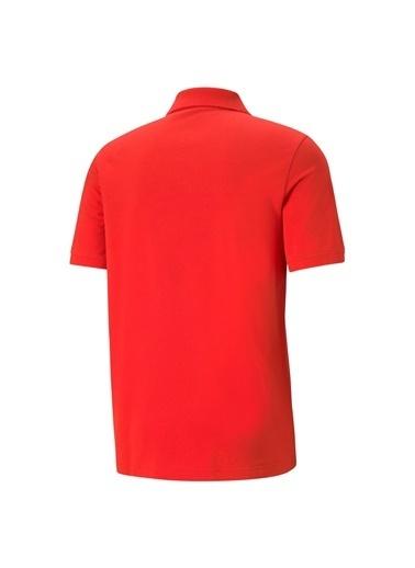 Puma Erkek Polo Yaka Tişört Ess Pique 58667411 Kırmızı